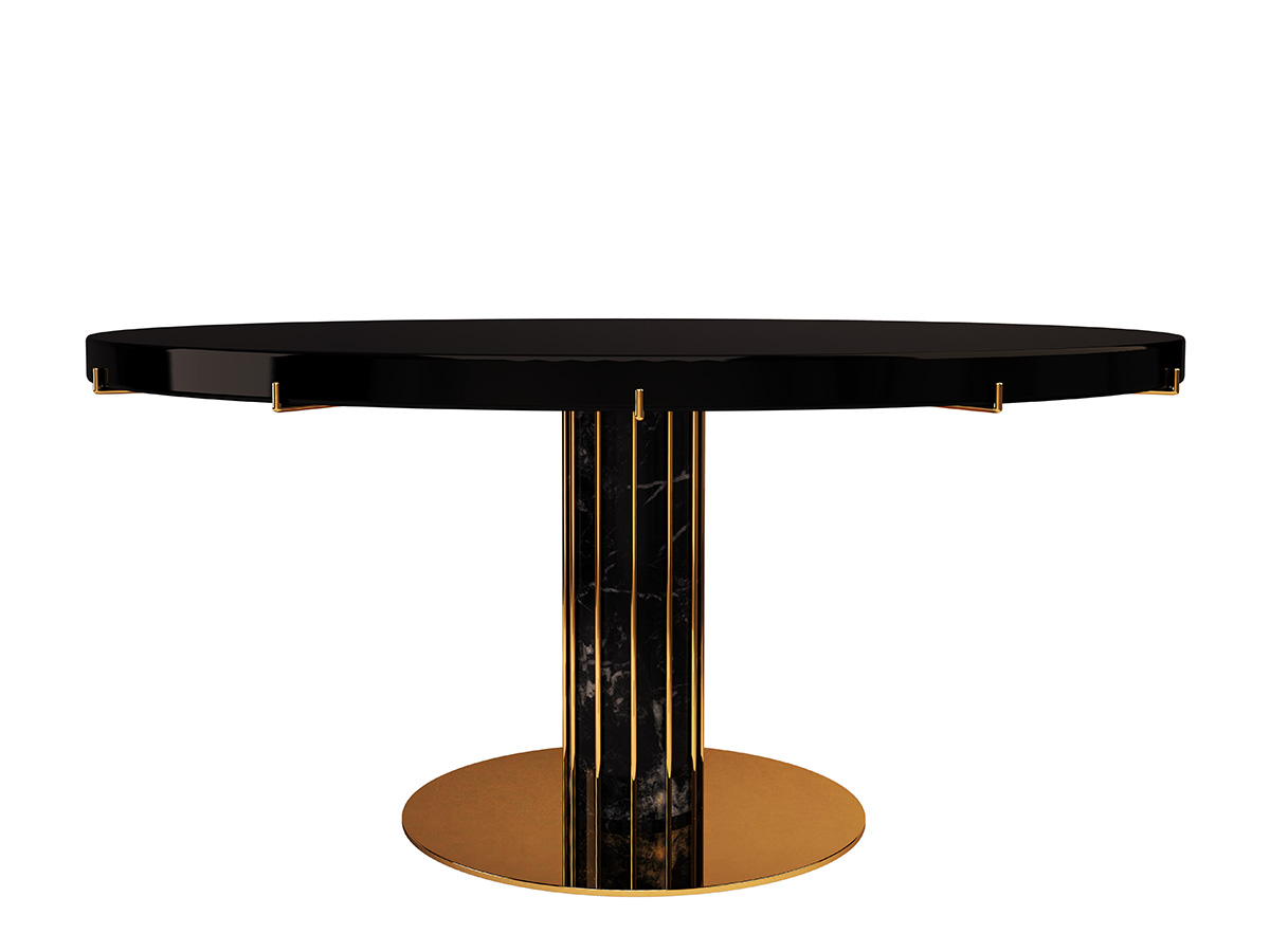 dandelion-luxury-contemporary-dining-table-clear-glass-polished-brass-marble-byswans-2