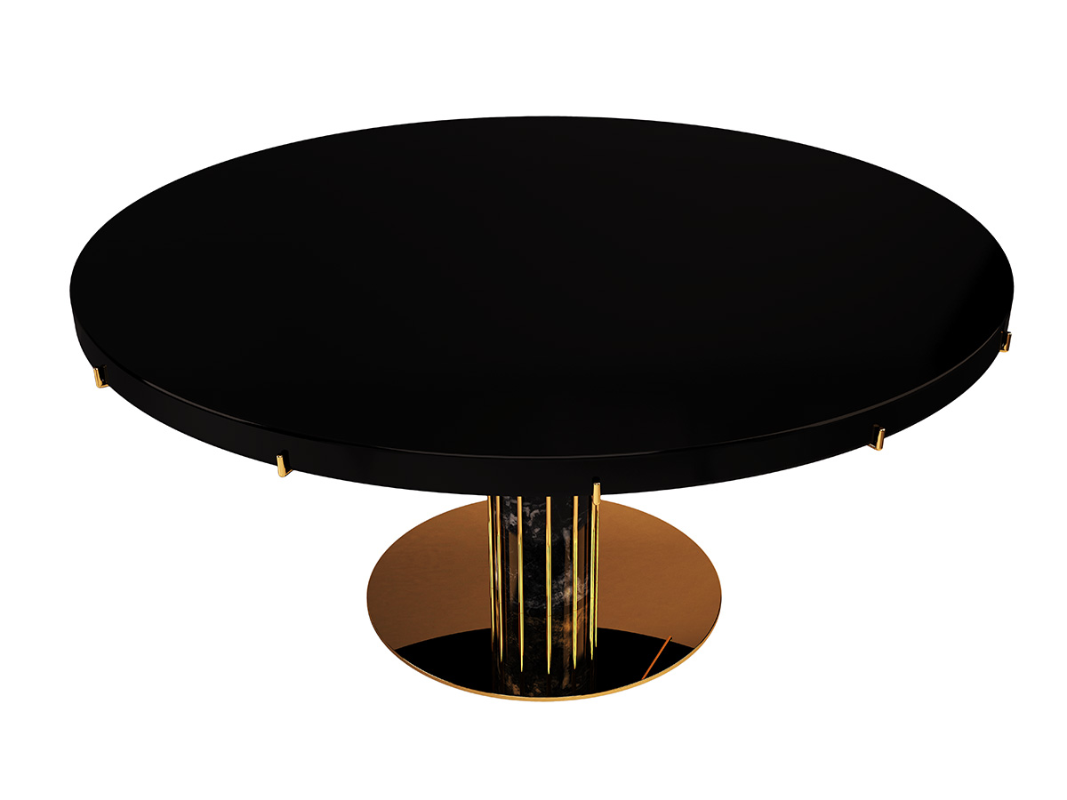 dandelion-luxury-contemporary-dining-table-clear-glass-polished-brass-marble-byswans-4