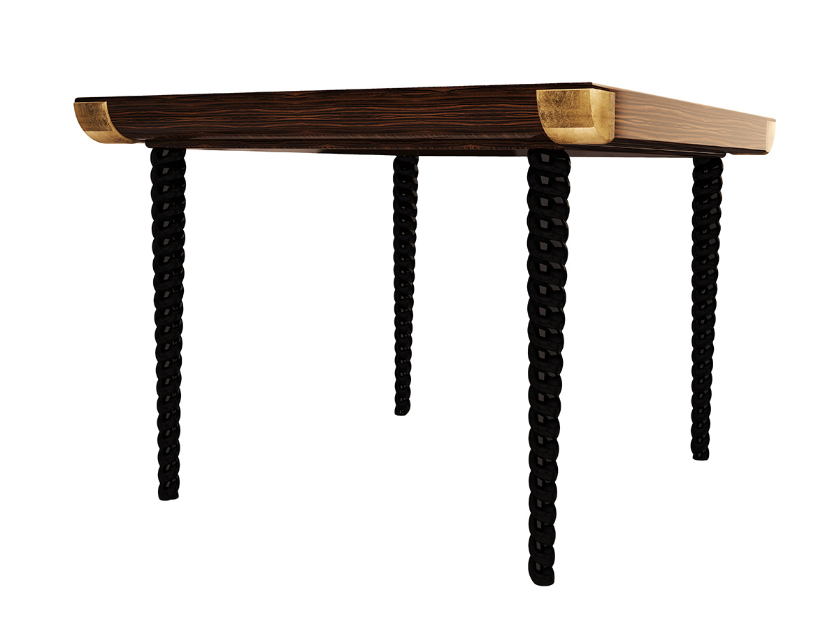 grace-dining-table-zebrano-wood-veneer-black-lacquered-gold-leaf-byswans-luxury-hospitality-bespoke-furniture-3