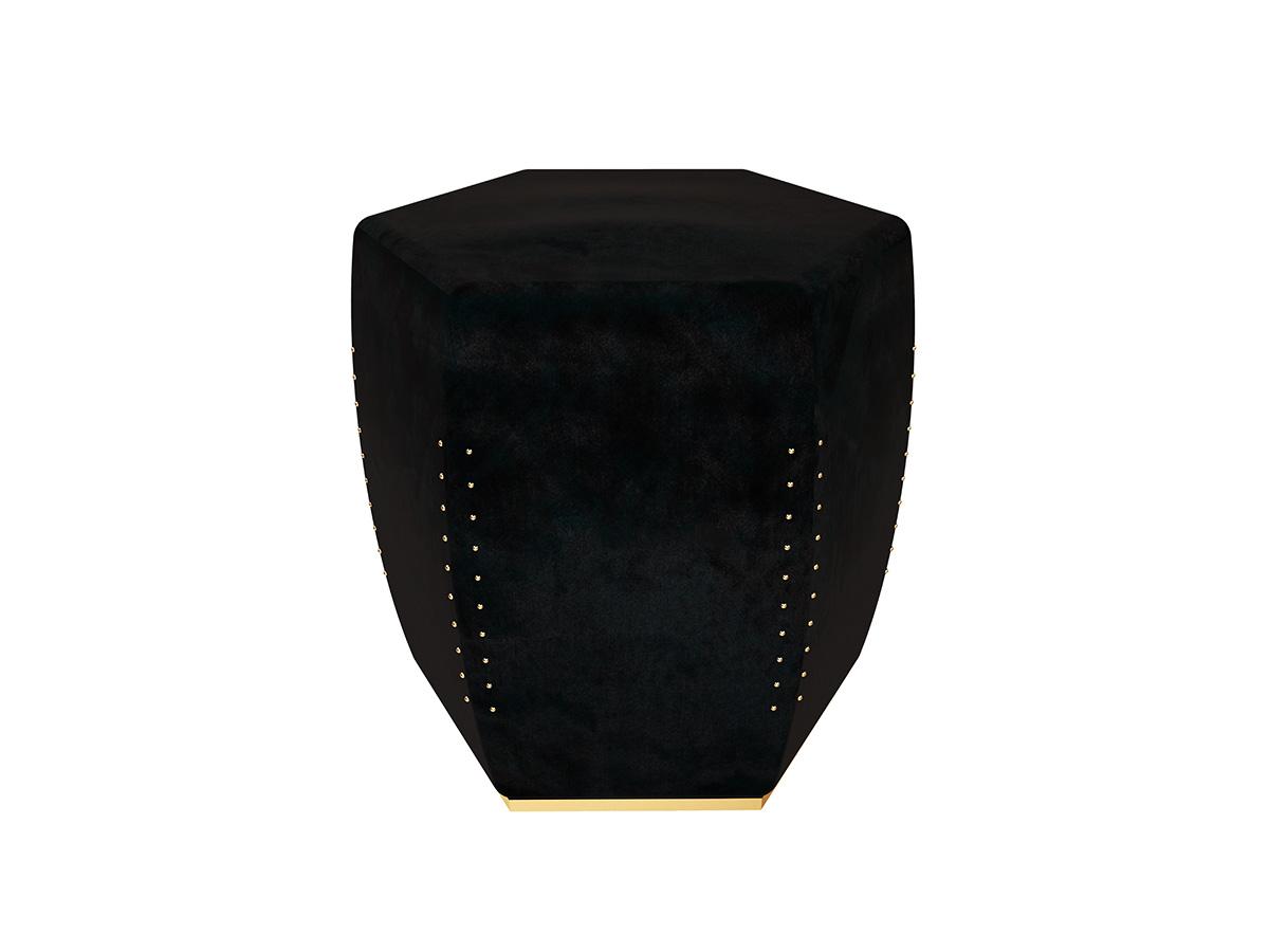 oscar-contemporary-stool-black-velvet-brass-nails-restaurant-hotel-byswans-upholstery-3