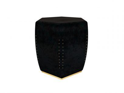 oscar-contemporary-stool-black-velvet-brass-nails-restaurant-hotel-byswans-upholstery-4