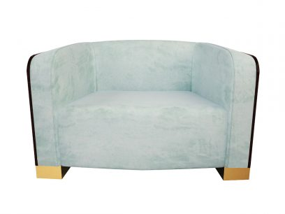 Scarlett Single Sofa – Luxury Bespoke Upholstery