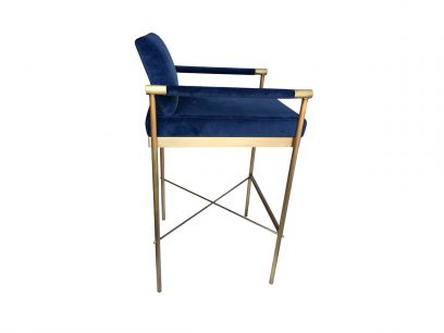 meryl-luxury-contemporary-bar-chair-velvet-blue-navy-brass-2