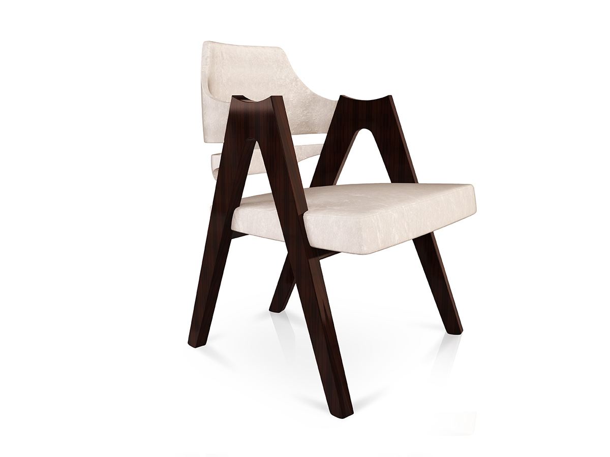 George – Luxury Bespoke Upholstered Dining Chair