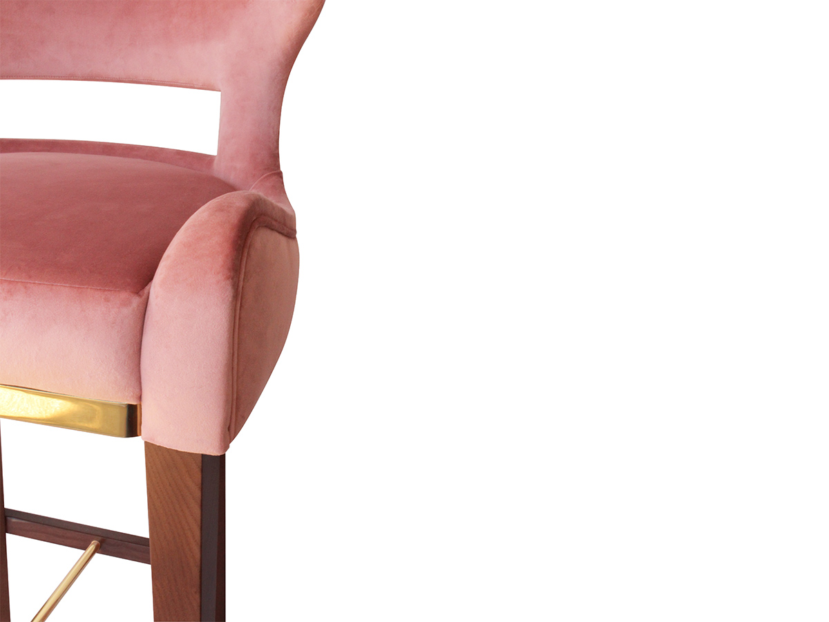Emma Counter Height Barstool from BySwans – Bold Statement Furniture