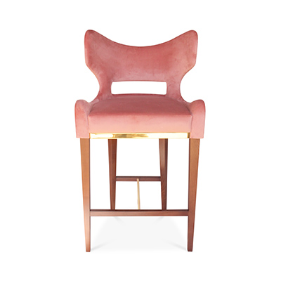 Emma Counter Height Barstool from BySwans - Bold Statement Furniture